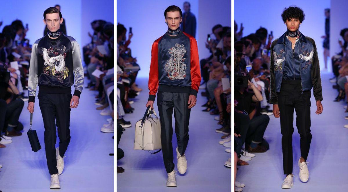 Сукадзян в коллекции Louis Vuitton