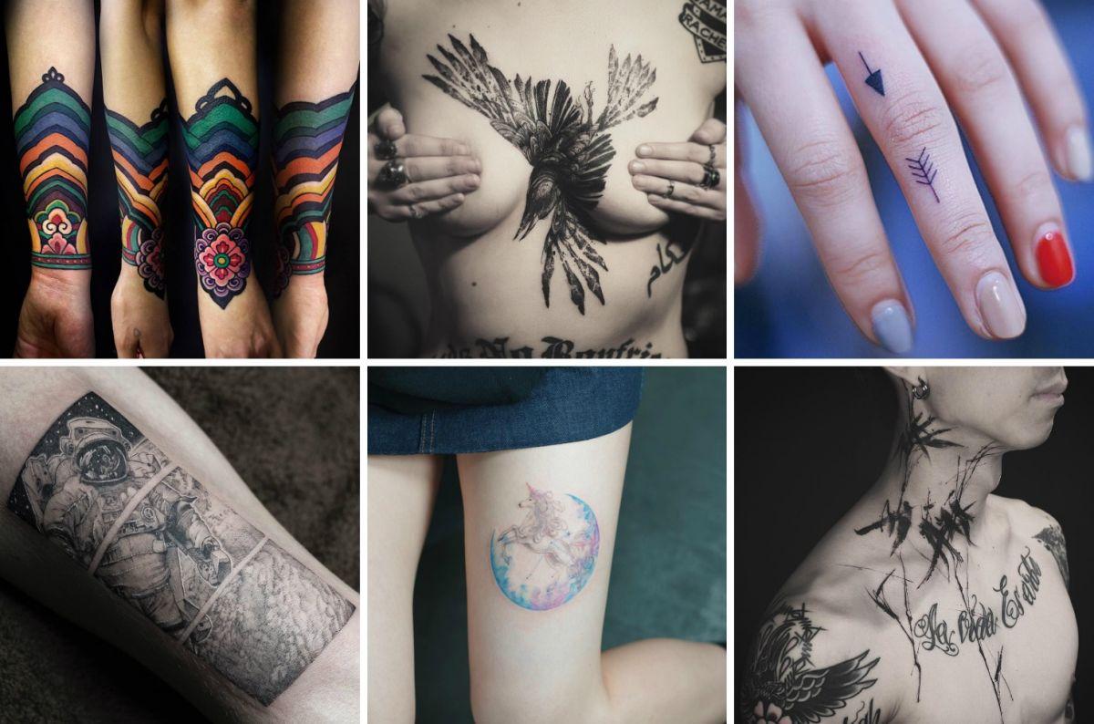 Татуировки корейских мастеров